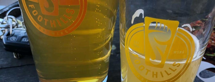 Foothills Brewing Company is one of NC Craft Breweries.