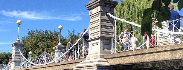 Foot Bridge is one of Boston.