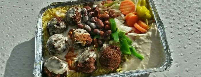 Alan's Falafel Cart is one of NYC: FiDi Luncher.