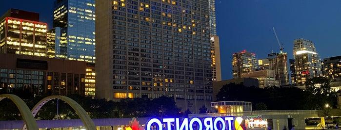 City Of Toronto Sign is one of The : понравившиеся места.