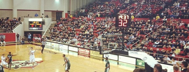 John M. Belk Arena is one of Sporting Venues To Visit.....