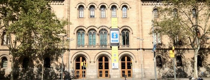 Universitat de Barcelona - Edifici Històric is one of Spain. Barcelona.