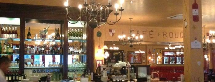 Café Rouge is one of Locais curtidos por Kevin.