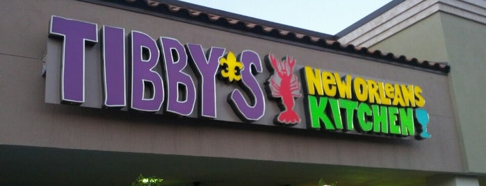 Tibby's New Orleans Kitchen is one of Drunk eats.
