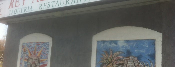 Rey Azteca Taqueria is one of Locais curtidos por Dallin.