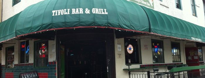 Tivoli Bar & Grill is one of Tempat yang Disimpan James.
