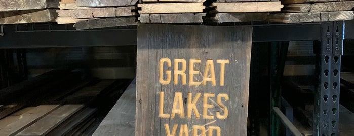 Great Lakes Yard is one of สถานที่ที่ Andy ถูกใจ.