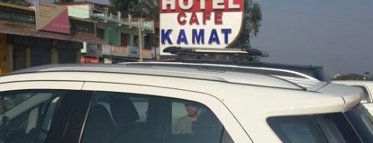 Hotel Cafe Kamat is one of Lieux qui ont plu à Vivek.