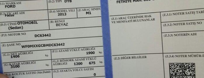 Nilüfer Trafik Tescil Büro Amirliği is one of Erkanさんのお気に入りスポット.