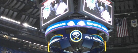 KeyBank Center is one of Buffalo.