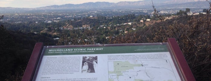 Nancy Hoover Pohl Overlook is one of so cal.