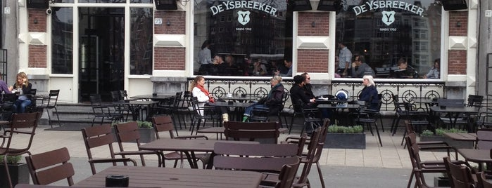 De Ysbreeker is one of Z☼nnige terrassen in Amsterdam❌❌❌.
