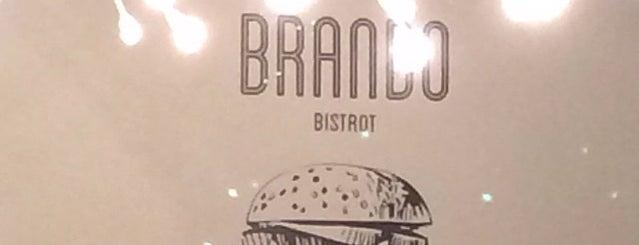 Brando Bistrot Como is one of สถานที่ที่ Valeria ถูกใจ.