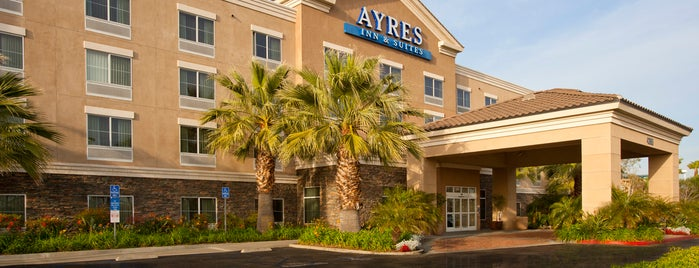 Ayres Inn & Suites Ontario Mills Mall is one of Fernando'nun Beğendiği Mekanlar.