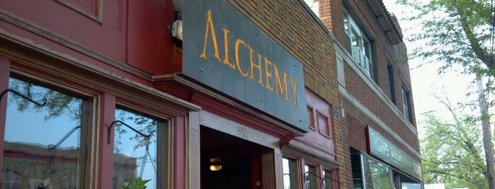 The Alchemy Cafe is one of Madison Bucky list.