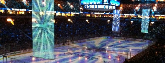 Rogers Arena is one of Hockey Arenas!.