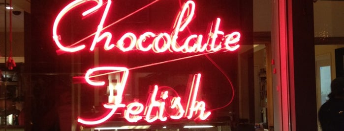 The Chocolate Fetish is one of Asheville.