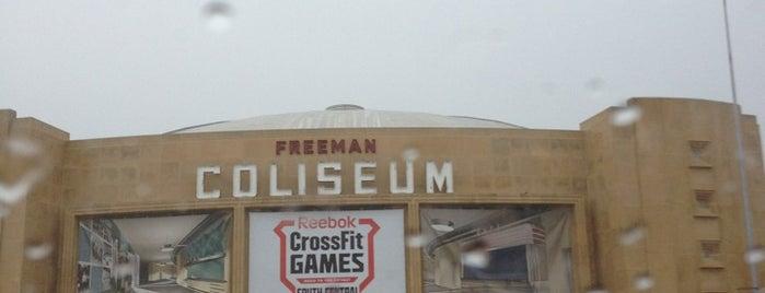 Freeman Coliseum is one of Zzz....