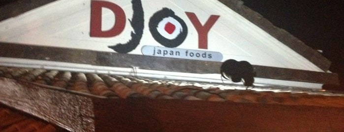 DJOY Japanese Food is one of Restaurantes Japonês.