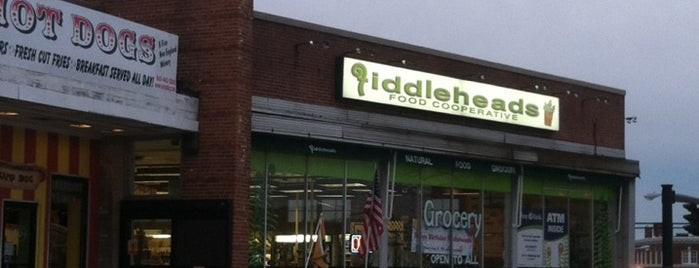Fiddlehead's Food Co-op is one of Freaker USA Stores New England.