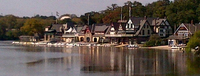 Boathouse Row is one of Philly.
