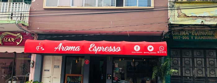 Aroma Espresso Café is one of Jorgeさんのお気に入りスポット.