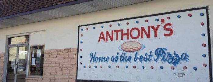 Anthony's Pizza is one of Chris : понравившиеся места.