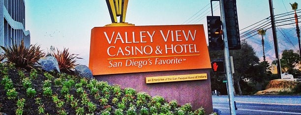 Valley View Casino & Hotel is one of Tempat yang Disukai Tamie.