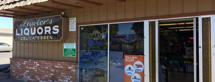 Lawlers Liquors is one of Guide to Napa's best spots.