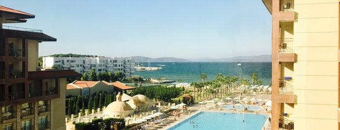 Radisson Blu Resort & Spa Cesme is one of Tempat yang Disukai Olga.