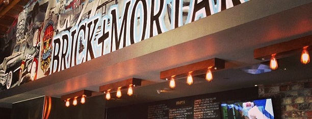 Brick + Mortar is one of Eat, drink & be merry.