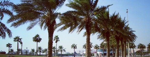 Dammam Corniche is one of Tempat yang Disukai Nada.