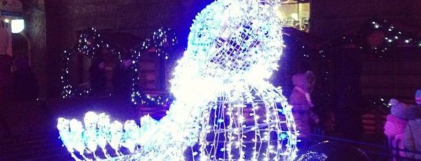 Фонтан «Плавающий шар» is one of Питерские каникулы 2014.