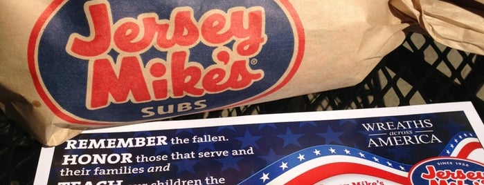 Jersey Mike's Subs is one of Garett 님이 좋아한 장소.