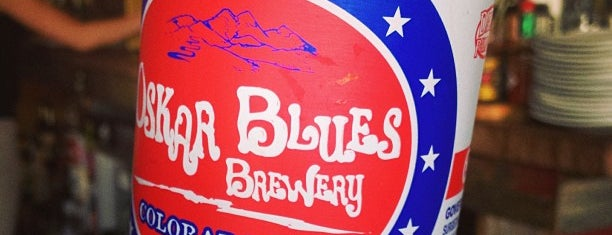 Oskar Blues Grill & Brew is one of Top craft beer breweries in the USA.