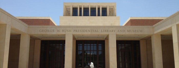 George W. Bush Presidential Center is one of Dallas-Fort Worth.