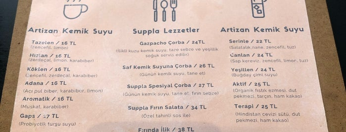 Suppla Broth Co. is one of Bagdat caddesi.