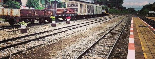 สถานีรถไฟปราจีนบุรี (Prachin Buri) SRT3066 is one of สระบุรี, นครนายก, ปราจีนบุรี, สระแก้ว.