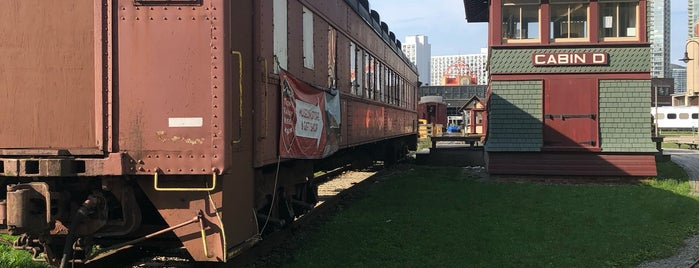 Toronto Railway Museum is one of Lieux qui ont plu à Martin.