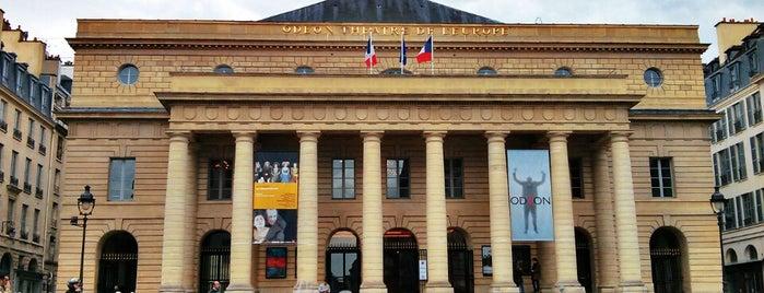 Odéon – Théâtre de l'Europe is one of Paris.