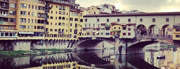 Ponte Vecchio is one of Firenze.