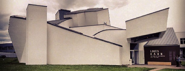 Vitra Design Museum is one of Mulhouse-Basel.
