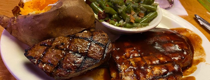 Texas Roadhouse is one of Tempat yang Disimpan G.