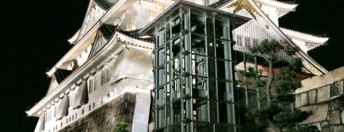 大阪城 is one of 日本夜景遺産.