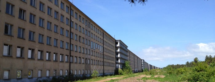 "KdF-Seebad Prora (""Koloss von Prora"") is one of Posti salvati di Cristina."
