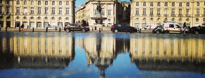 Miroir d'Eau is one of Bordeaux.