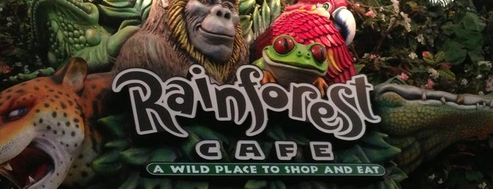 Rainforest Cafe is one of Roberto : понравившиеся места.