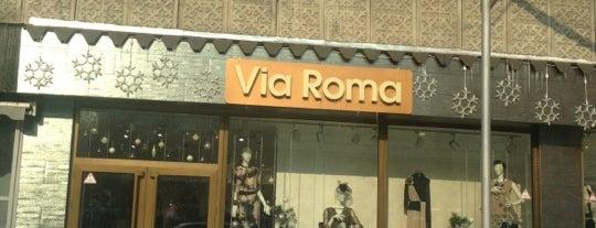 Via Roma is one of Locais salvos de Nuri.