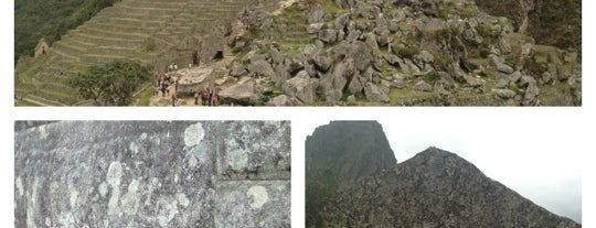 Machu Picchu is one of World Heritage Sites!!!.