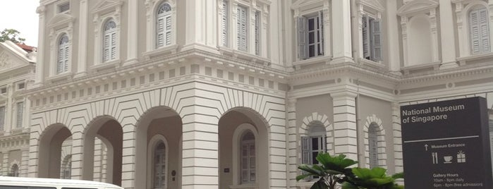 National Museum of Singapore is one of Singapore.